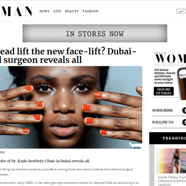 Is Thread Lift the new Face-Lift? Dubai-based Surgeon Reveals All