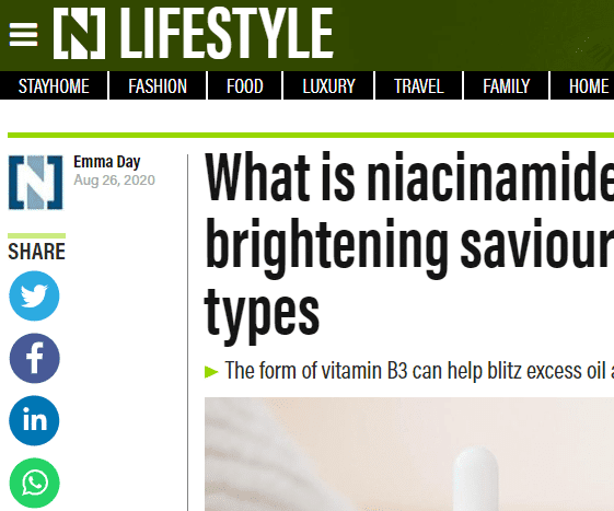 What Is Niacinamide? How To Use The Skin-Brightening Saviour That Works On All Skin Types
