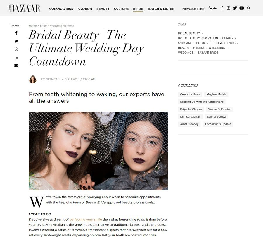Bridal Beauty   The Ultimate Wedding Day Countdown
