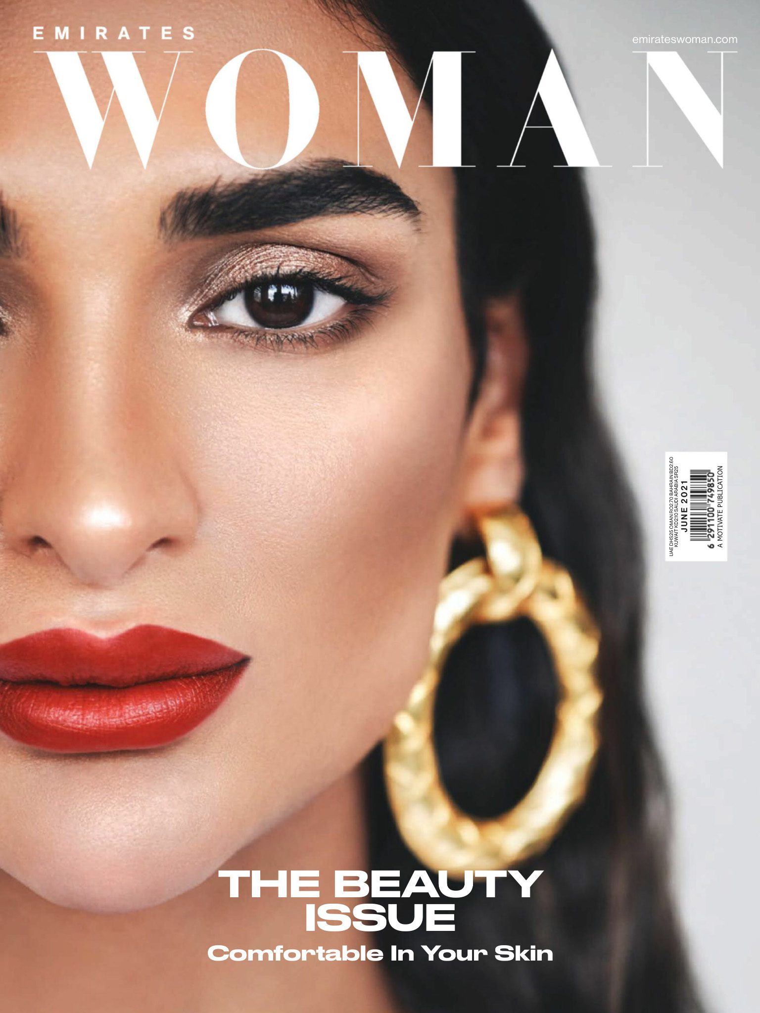 Emirates woman-The Beauty Issue