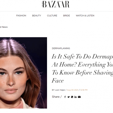 Is It Safe To Do Dermaplaning At Home? Everything You Need To Know Before Shaving Your Face